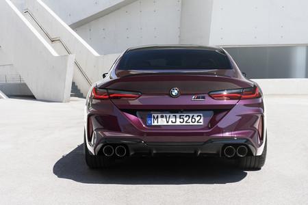 BMW M8 Gran Coupe 2020 trasera