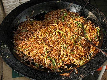 Noodles de trigo
