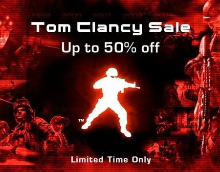 Ofertas de todo tipo bajo el sello Tom Clancy