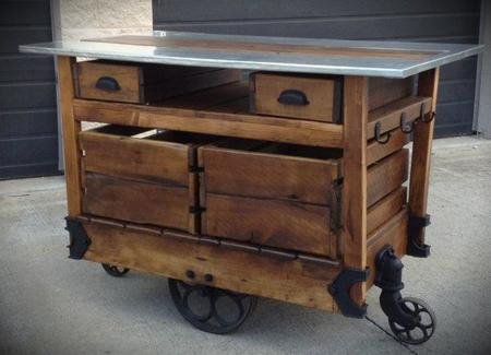 Ideas Furniture Terrific Rustic Kitchen Island Cart With Wheels Base As Well As Drawers Storage For Traditional Island Designs Ideas Shapely Kitchen Island Cart Table And Fixtures Decorating