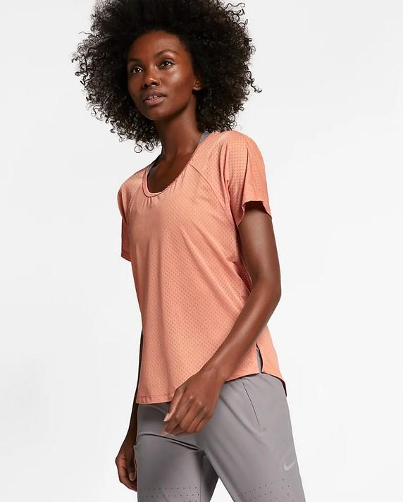 Camiseta de running - Mujer Nike Breathe Miler