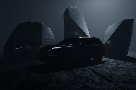 El nuevo Mitsubishi Outlander 2022 se deja ver en un primer teaser oficial y confirma fecha de presentación