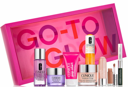 Exclusive Glow On The Go Set De Clinique