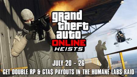 ¿Corto de efectivo? Aprovecha el doble de RP y GTA$ en el Asalto a Laboratorios Humane esta semana en GTA Online