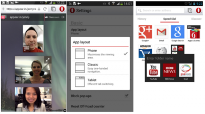 Opera para Android se actualiza con muchas mejoras
