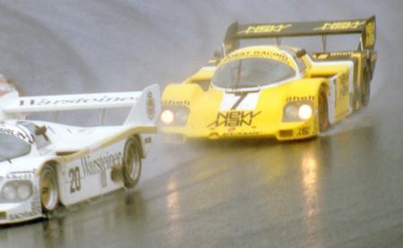 Ayrton Senna Porsche 956 Nürburgring 1984