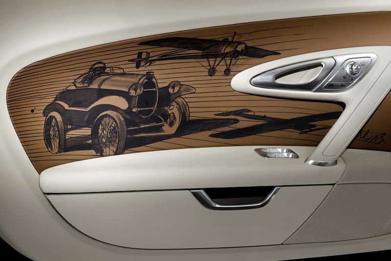 "Foto de Bugatti Veyron ""Black Bess"" Legends Edition (11/17)"