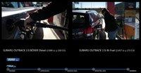 Subaru Outback, duelo de consumos entre el 2.5i a GLP y el 2.0 Boxer Diesel