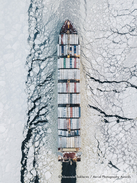 Fairway Of The Gulf Of Finland Alexander Sukharev Aerial Photography Awards
