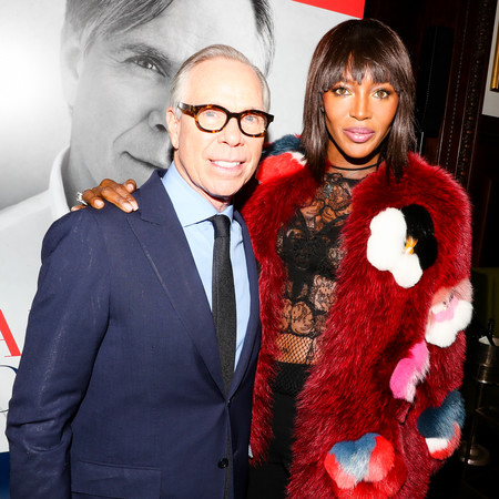 Tommy Hilfiger And Naomi Campbell