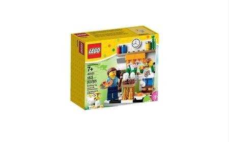 Set de Lego de decoradores de huevos de Pascua (y más ideas para decorar la Semana Santa)