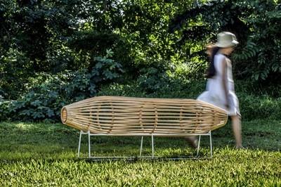 Da un toque natural al ambiente con mobiliario de rattan