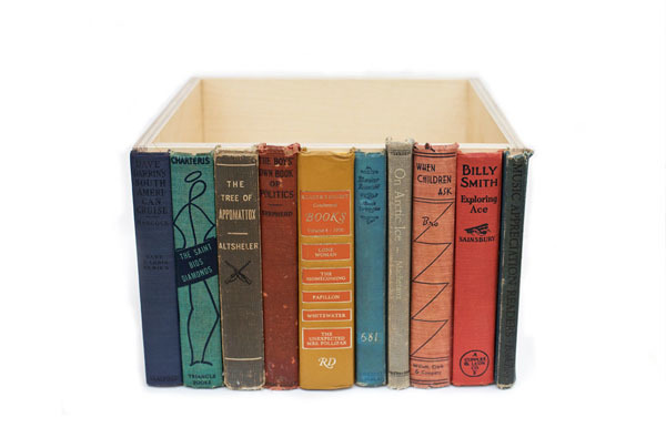 The Modern Library storage bin