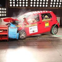 El Volkswagen Fox se lleva tres estrellas por Latin NCAP y un regaño por no tener ESC