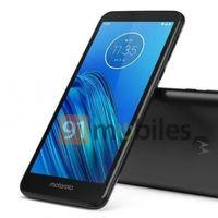El Motorola Moto E6 ya se ha filtrado por completo, faltaba la imagen de prensa