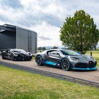 Los primeros Bugatti Divo son entregados a sus millonarios y felices propietarios
