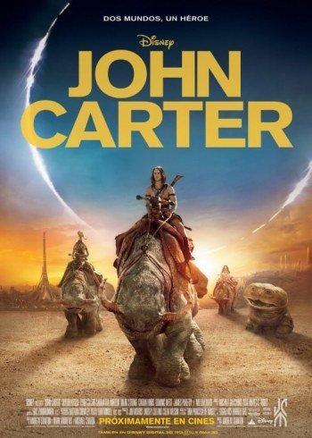 'John Carter', cartel español de lo nuevo de Andrew Stanton