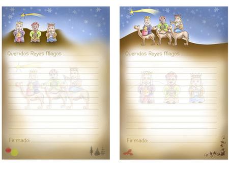 Cartas para los Reyes Magos exclusivas de Bebés y más