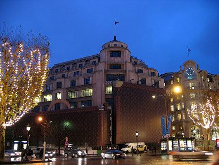 Louis Vuitton, publicidad exterior