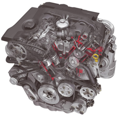 Motor 2.7 V6 HDi
