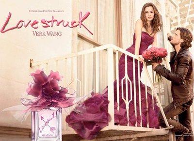 """Leighton Meester en la campaña del perfume de Vera Wang """"Lovestruck"""""""