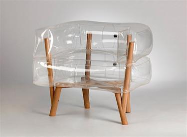 El sillón que cambiará tu manera de ver los muebles inflables