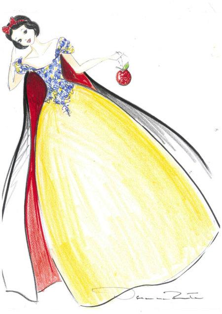 Blancanieves by Oscar de la Renta