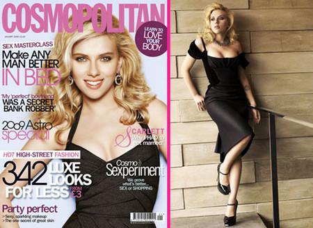 Scarlett Johansson habla de su matrimonio en Cosmopolitan