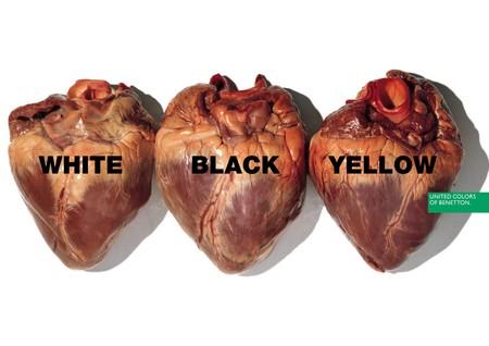 Benetton Hearts Oliverio Toscani