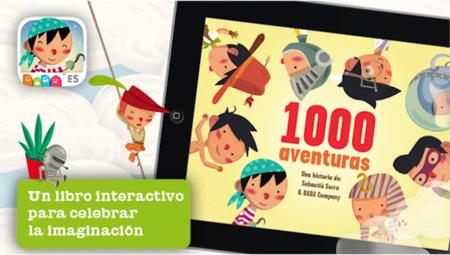 """""""1000 Aventuras"""": un libro interactivo para móvil y tablet"""