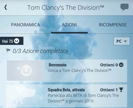 The Division Beta Movil