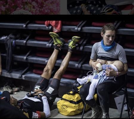 Corre un ultramaratón de montaña durante más de 43 horas haciendo paradas para amamantar a su bebé de tres meses
