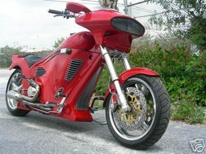 Ferrari Ducati 996 Custom Cruiser