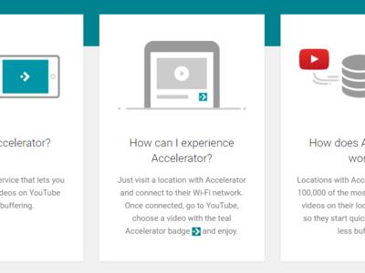 YouTube Accelerator, para cargar vídeos más rápido conectado a hotspots WiFi