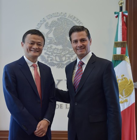 Jack Ma Epn Mexico