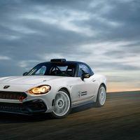 Fiat busca una mujer intrépida para conducir el 124 Spider Abarth rally car