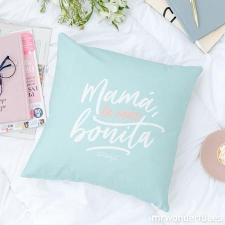 Mrw 8435460728966 Cojin Mama La Mas Bonita Es 1 2