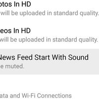 Cómo desactivar el audio en la reproducción automática de vídeos de Facebook