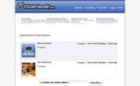 Clickfriends, la manera de crear y compartir sencillos álbumes fotográficos
