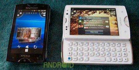 Sony Ericsson Xperia Mini y Mini Pro en nuestras manos