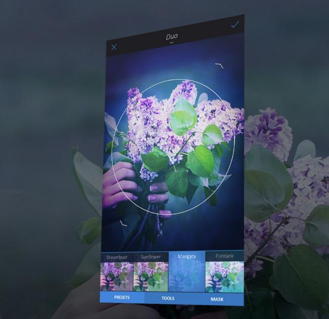 Enlight es una aplicación para iPhone y iPad