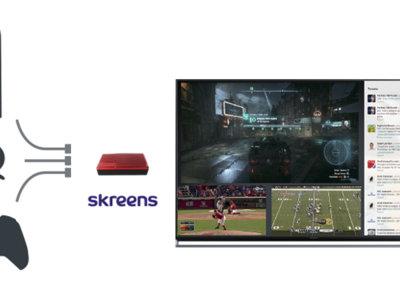 Skreens Nexus te permite ver varias fuentes HDMI al mismo tiempo en la misma pantalla