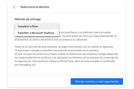 Mover Google Fotos Onedrive Flickr