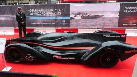 Bluebird GTL, el prototipo eléctrico para la futura Formula E de la FIA