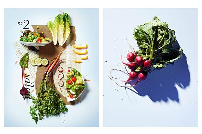 Comida, arte y cubismo desde los ojos de Kyle Dreier