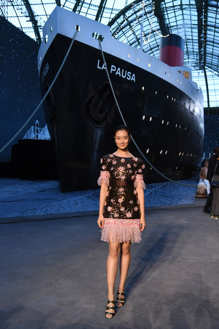 Chutimon Chuengcharoensukying Chanel 2018 19 Cruise Collection 3