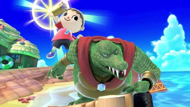 Super Smash Bros Ultimate King K Rool