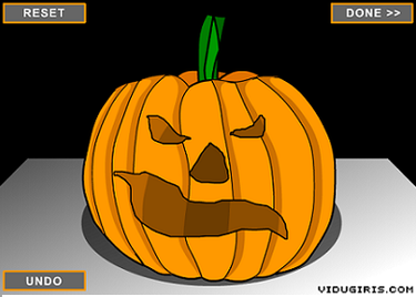 Calabaza de Halloween virtual