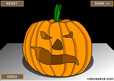 Calabaza de Halloween virtual
