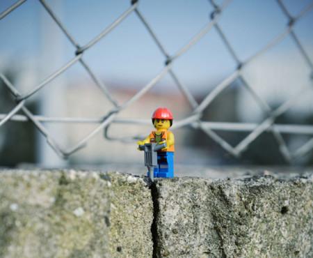 ¡Los Lego han cobrado vida! bueno, al menos en la imaginación de este fotógrafo